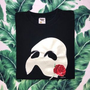 Vintage 1986 Phantom Of The Opera T Shirt XL Rare